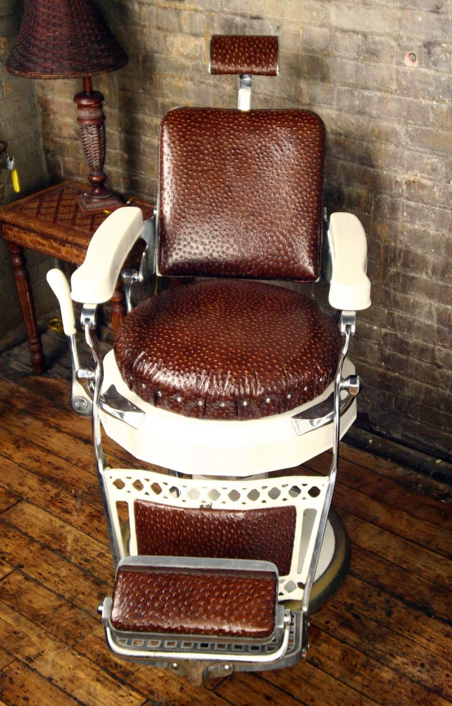 belmont barber chair repair minnie mouse recliner belvedere antique furniture