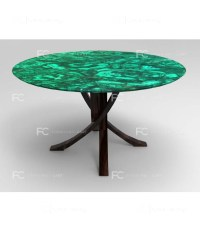 Malachite Coffee Table