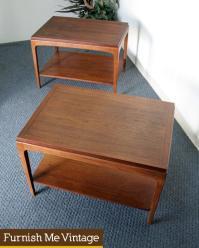 1 Mid Century Modern Vintage Lane End Table