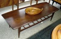 Mid Century Modern Walnut Coffee Table