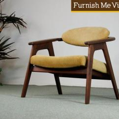 Adrian Pearsall Chair Designs French Script Occasional Vintage Craft Associates 916 Cc