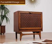 Mid Century Modern Lane Record Cabinet