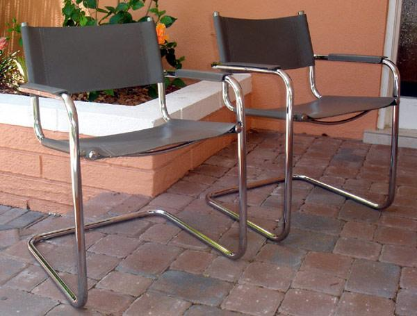 breuer chairs for sale luna events chair covers pair of marcel style arm