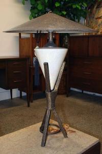Vintage Japanese Modern Table Lamp