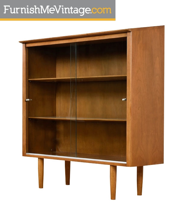 Drexel Profile mid century modern china cabinet