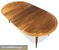 Mid Century Modern Circular Lane Acclaim Dining Table