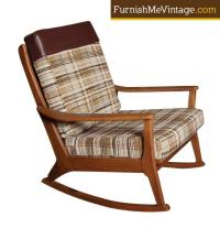 Original Mid Century Modern Rocking Chair