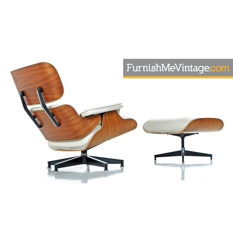 eames chair herman miller wedding covers hire bridgend authentic iconic mid century modern lounge walnut leather