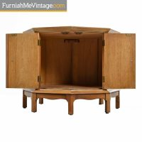 Thomasville Horizon Commode Cabinet - Marble Top With ...