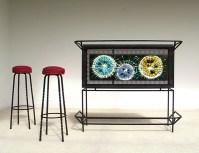 Ceramic Tile bar drinks signed J. Belarti | furniture love