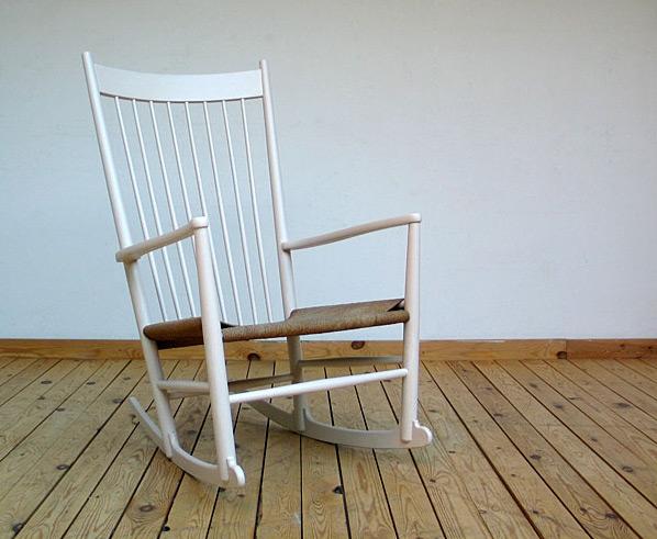 hans wegner rocking chair rattan wicker cushions j fdb mobler furniture love