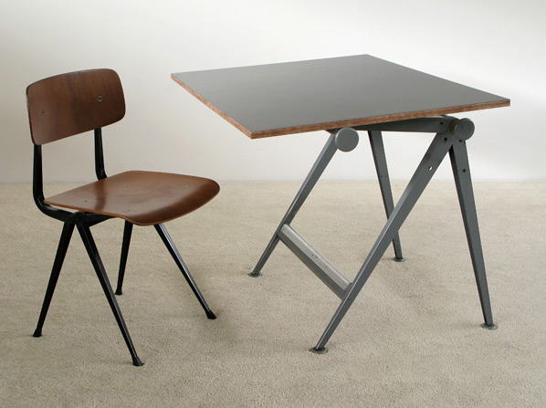 drafting table chairs hanging chair stand industrial reply and wim rietveld furniture love