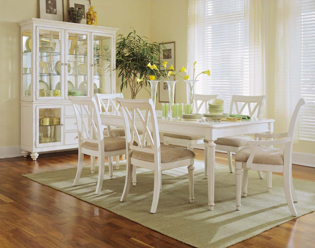 antique white dining chairs vitra eames eiffel chair camden room by american drew