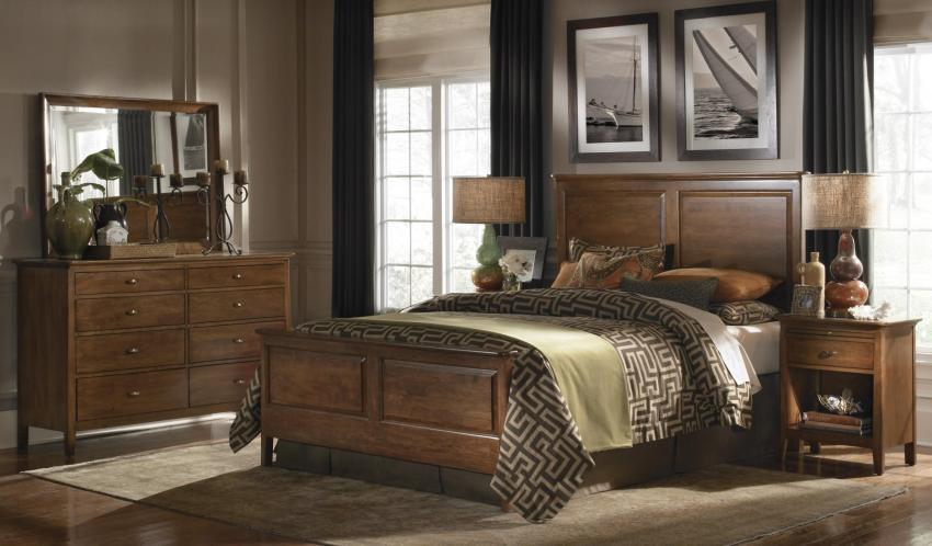 Kincaid Cherry Park Bedroom Collection