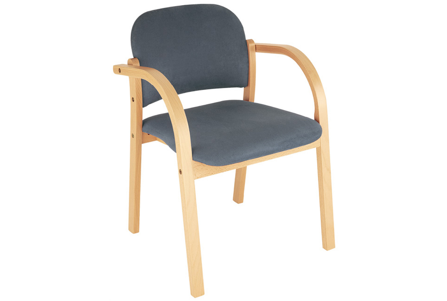wooden chair frames for upholstery uk white wicker rental malva frame reception armchair furniture at work
