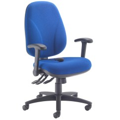 Ergonomic Folding Chair Evolve High Orchid Deluxe Lumbar Pump Operator With