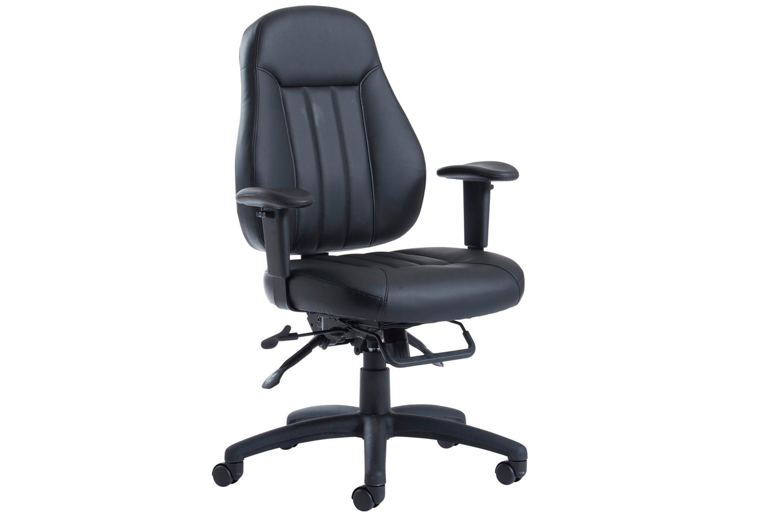 Holden ergonomic task chair leather  Furniture At Work