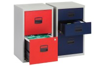 Bisley A4 home office filing cabinet - Furniture At Work
