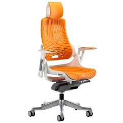 Zephyr Desk Chair Chairs For Kitchen Table High Back Orange Executive Operator With