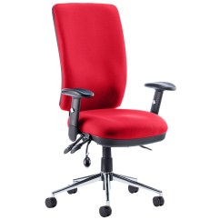 Posture Chair With Back Office Casters Praktikos High Operator Furniture At Work