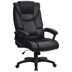 Revolving Chair Features With Desk Bartos High Back Executive Furniture At Work