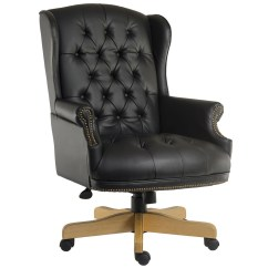 Swivel Chair Black Perego High Replacement Cushion Chairman Furniture At Work