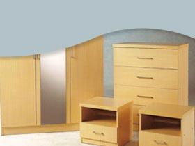 Leather bedroom sets