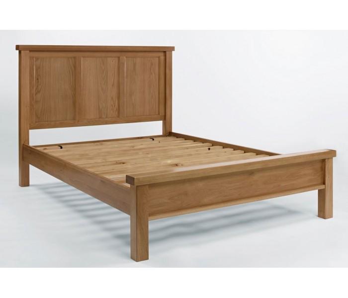 devon oak kingsize bed