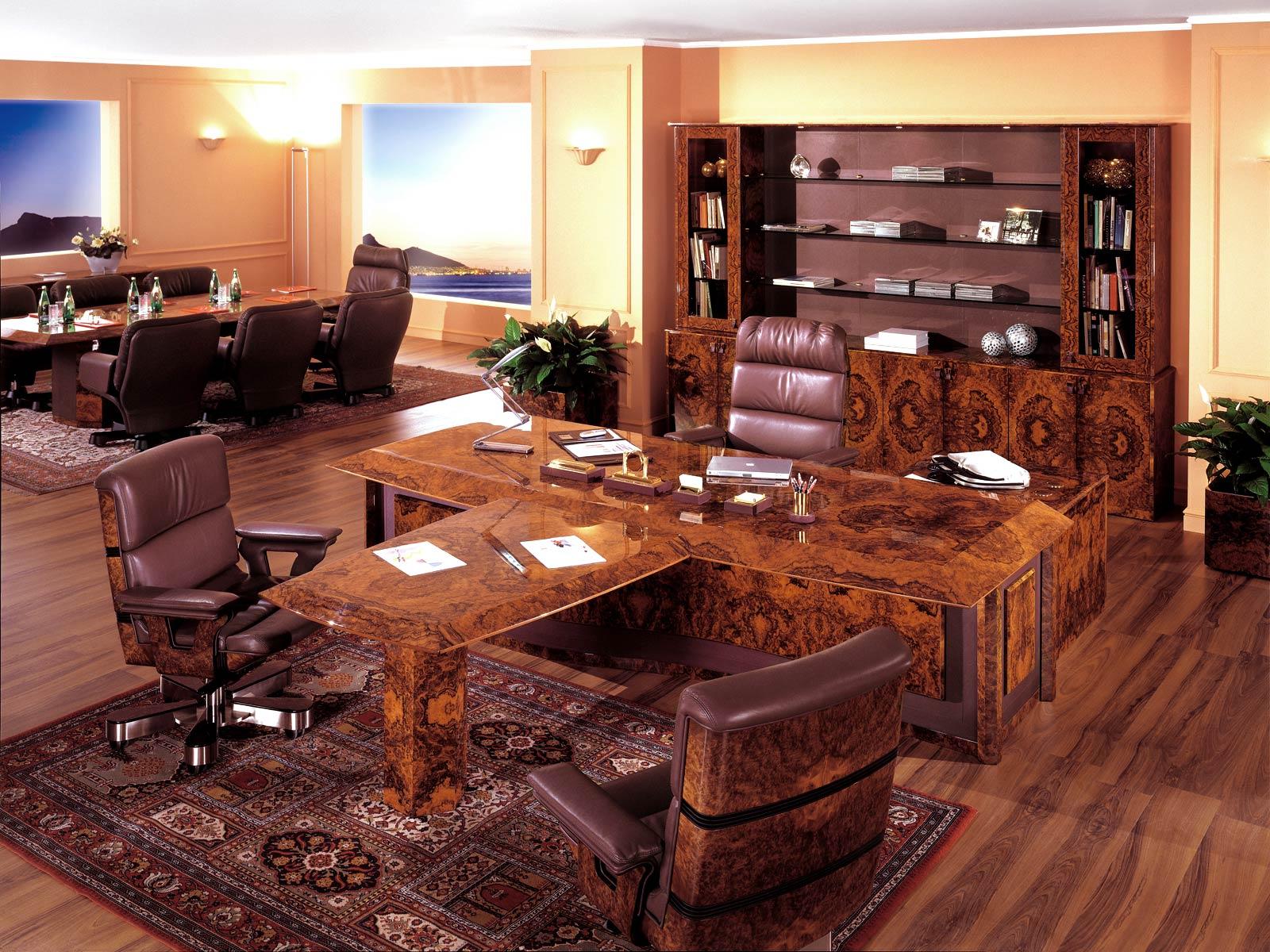 Cuf milano, la divisione di office design che fa capo a centrufficio. Executive And Presidential Luxury Office R A Mobili