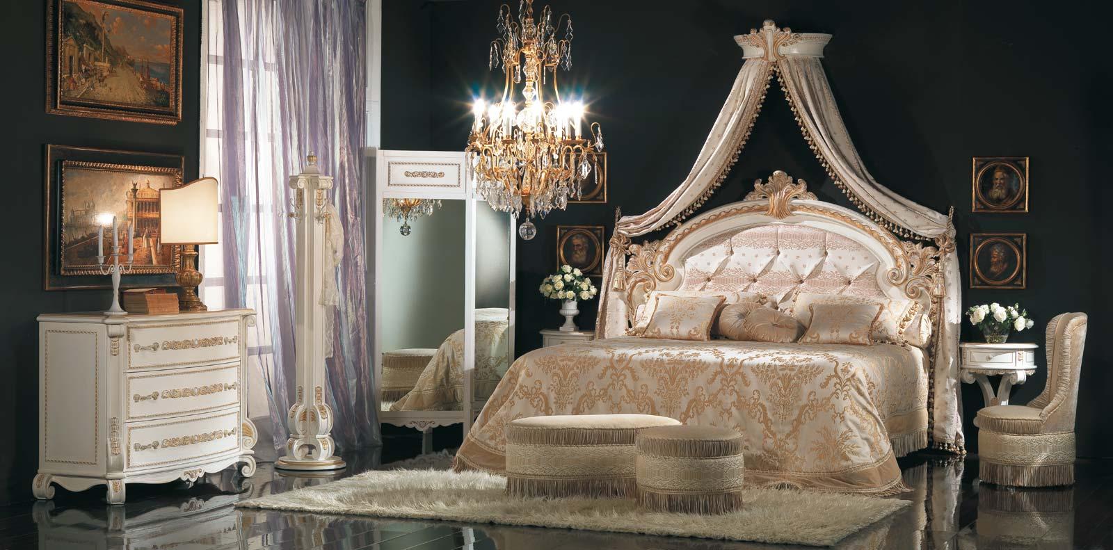 I letti matrimoniali moderni sanno arredare n maniera sobria ed elegante. Mobili Classici Di Lusso Per Ville Vazzari