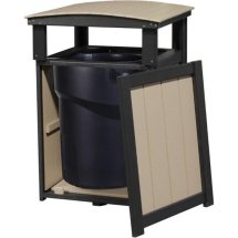 Commercial Grade Poly Lumber Trash