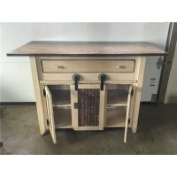 Primitive Kitchen Island in Counter Height Set - 2 Sizes ...