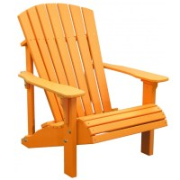 Poly Deluxe Adirondack Chair - FurniturebarUSA