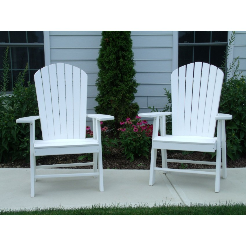 Poly Upright Adirondack Chair  Furniture Barn USA