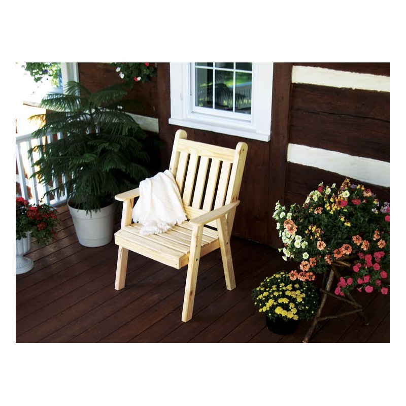 Pine Traditional English Dining Chair AL