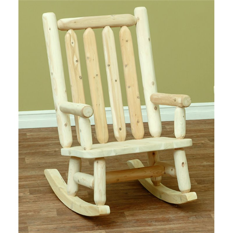 cedar rocking chairs where to buy chair covers in montreal finished white classic