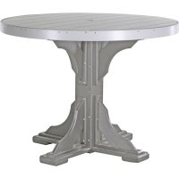 Poly 4' Round Table & Chairs