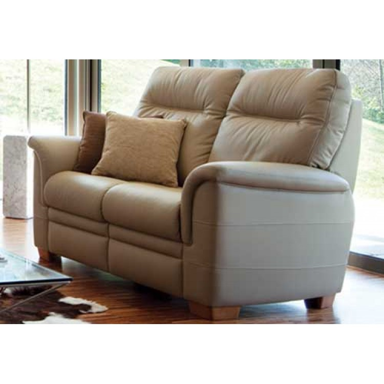 parker leather sofa reviews king chattanooga knoll hudson 2 seater | suite