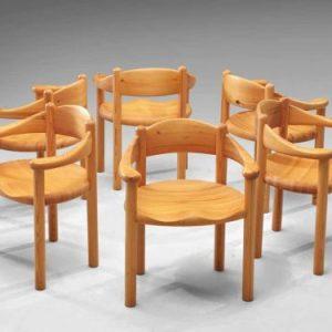 Kursi Cafe Kayu Minimalis Rainer Daumiller