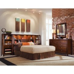 American Drew Tribecca Sofa Table Madrid Covers Bookcase Headboard Bedroom Set ...