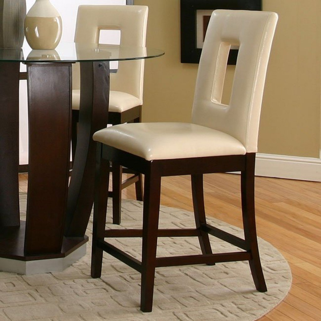 east coast chair and barstool inc hanging ottawa emerson counter height dinette with ivory vinyl chairs
