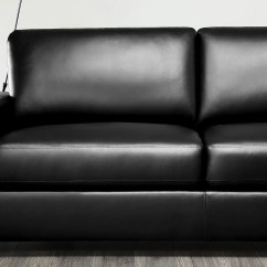 Black Leather Sofa Organic Uk Mission Suite 3 2 Seater Only 699 98 Furniture Choice