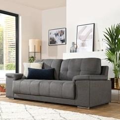 Grey Fabric Sofa Uk Womb Kansas 2 Seater Slate Only 399 99 Furniture Choice 3