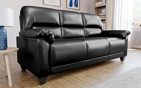 sofas for less uk semi circle couch sofa leather buy settees online furniture choice kenton small black 3 seater