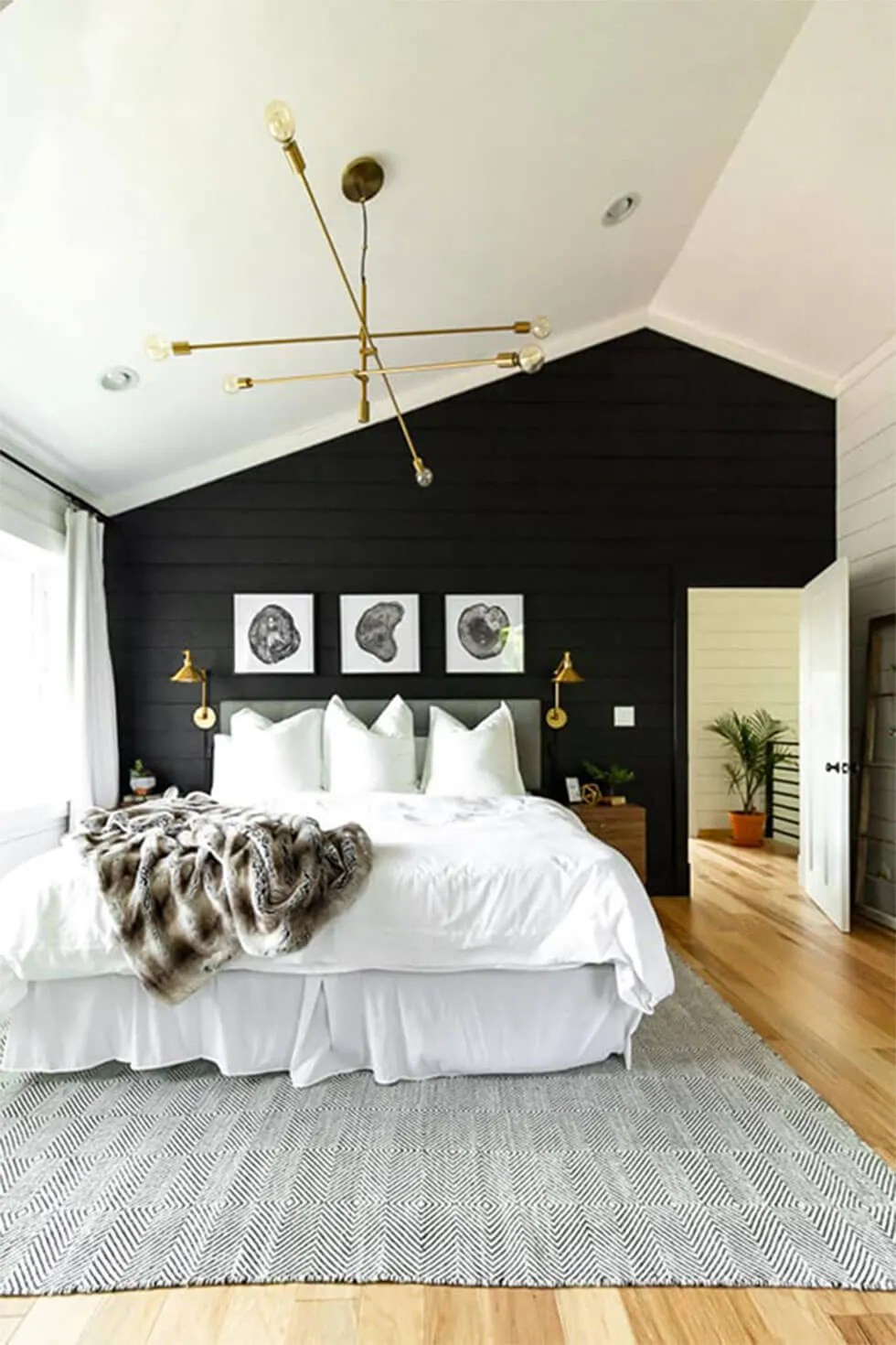 6 Powerful And Stylish Black And White Bedroom Ideas Furniture Choice