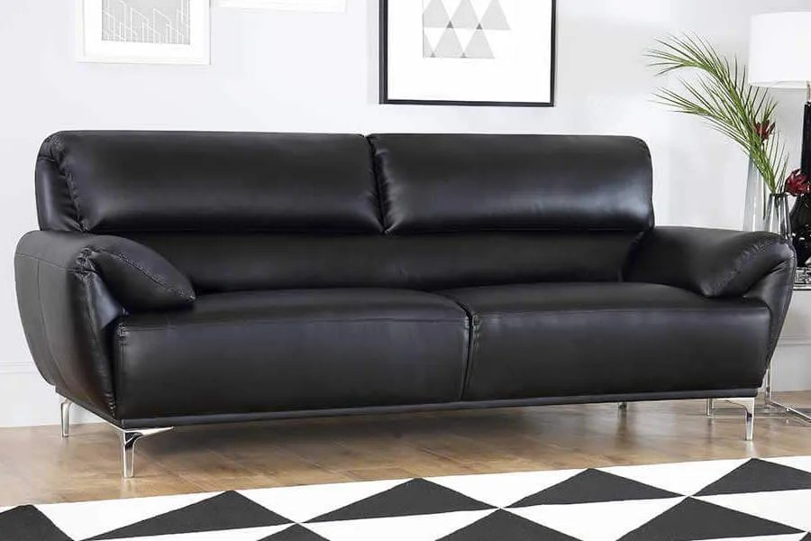 black leather sofa mattress topper sofas buy online furniture choice