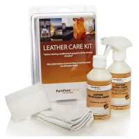 Leather Care Kit: Cleans, Protects & Nourishes Leather ...