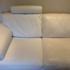Can You Clean White Leather Sofas Recliner Sofa Sets In Hyderabad How To Furniture Clinic Example Image 2