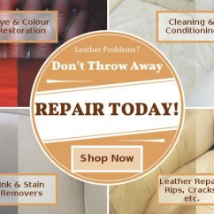 Leather Sofa Cleaning Repair Company Decorate Living Room Without Furniture Clinic Specialists In Trusted Care