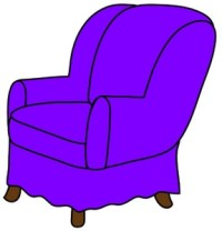 Free Arm Chair Clipart Image 0071-0811-0514-4844 ...